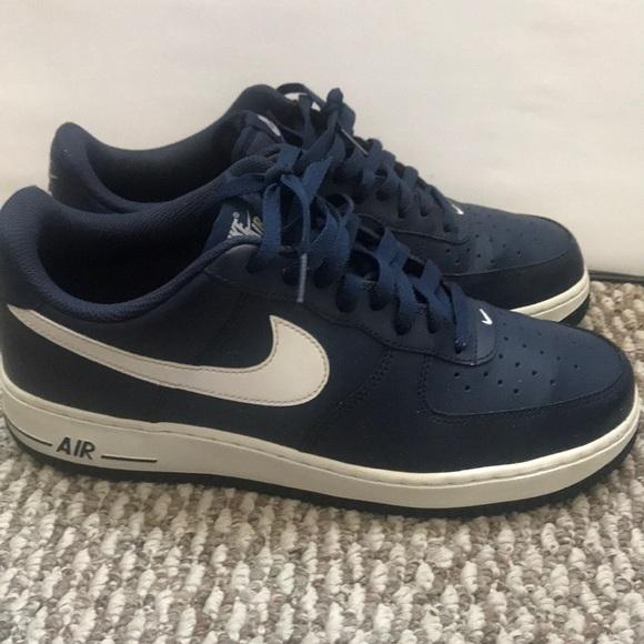 1 Nike Midnight Navywhite Air Force 8ONyn0vmw